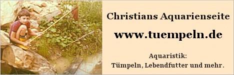 Christians Aquarienseiten - tuempeln.de - Alles über Lebendfutter